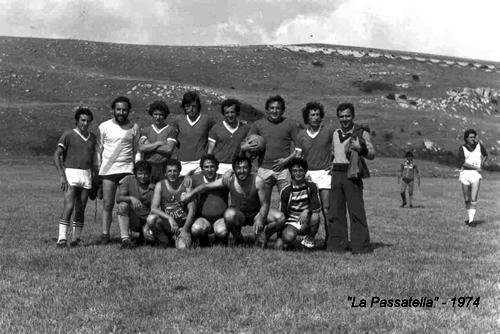 La Passatella, anno 1974