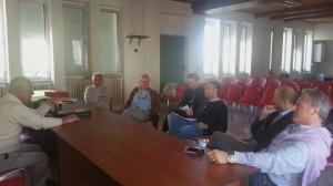 L'incontro presso la biblioteca comunale di Capracotta