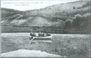 Una foto storica del lago di Mingaccio