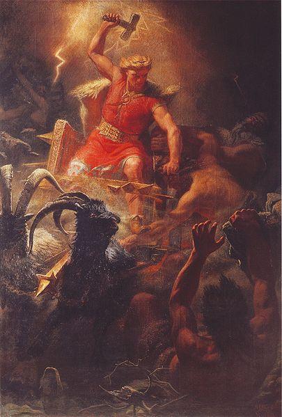 Il dio Thor