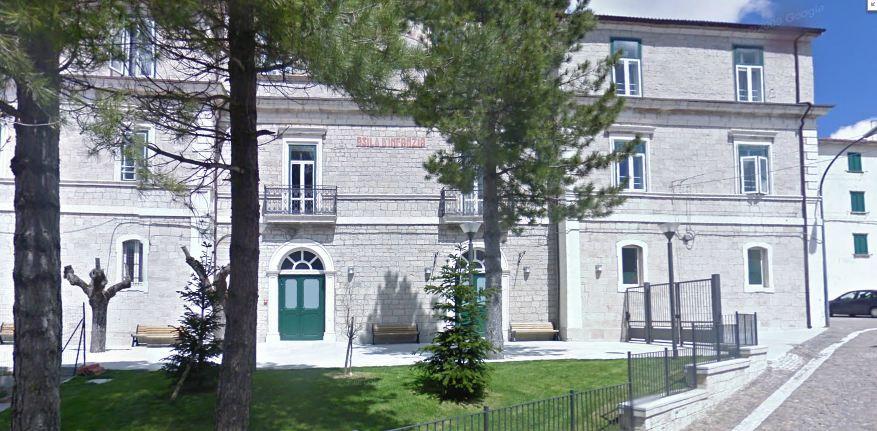 L'ex Palazzo Baccari, oggi sede della Residenza per Anziani