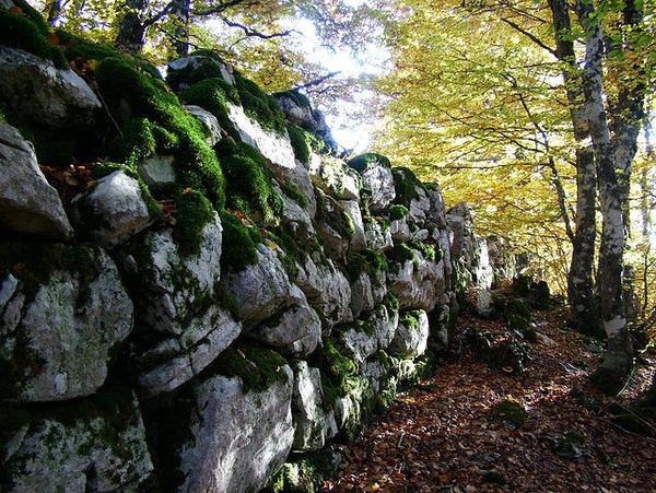 Fortificazione sannita su Monte Cavallerizzo