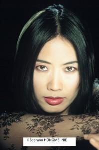 Il soprano Hongmei Nie