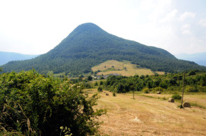 Monte Miglio nel territorio di S. Pietro Avellana