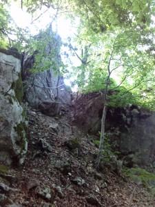 Passaggio spettacolare sul Monte Cavallerizzo