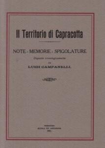 Il Territorio di Capracotta di Luigi Campanelli