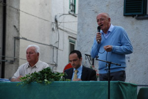 L'intervento del sindaco Antonio Monaco