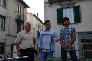 Domenico Di Nucci e i fratelli Loreto e Luca Beniamino