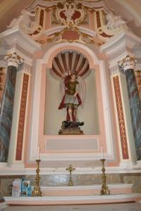 Altare di san Michele Arcangelo nella Chiesa Madre
