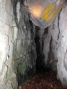Grotta del Diavolo- Inizio dell'antro