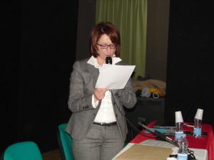 L'assessore alla Cultura Maria D'Andrea