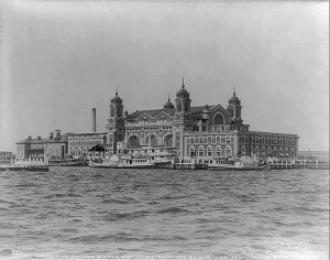 Ellis Island, the gateway for millions of immigrants to the United States