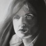 Lo sguardo assorto di Michela Micone