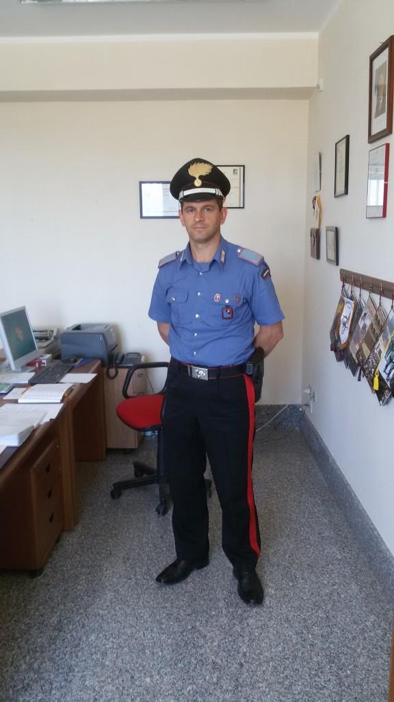 Il maresciallo ordinario Alfredo Abbruzzese