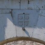 Lo stemma di Cola di Monforte