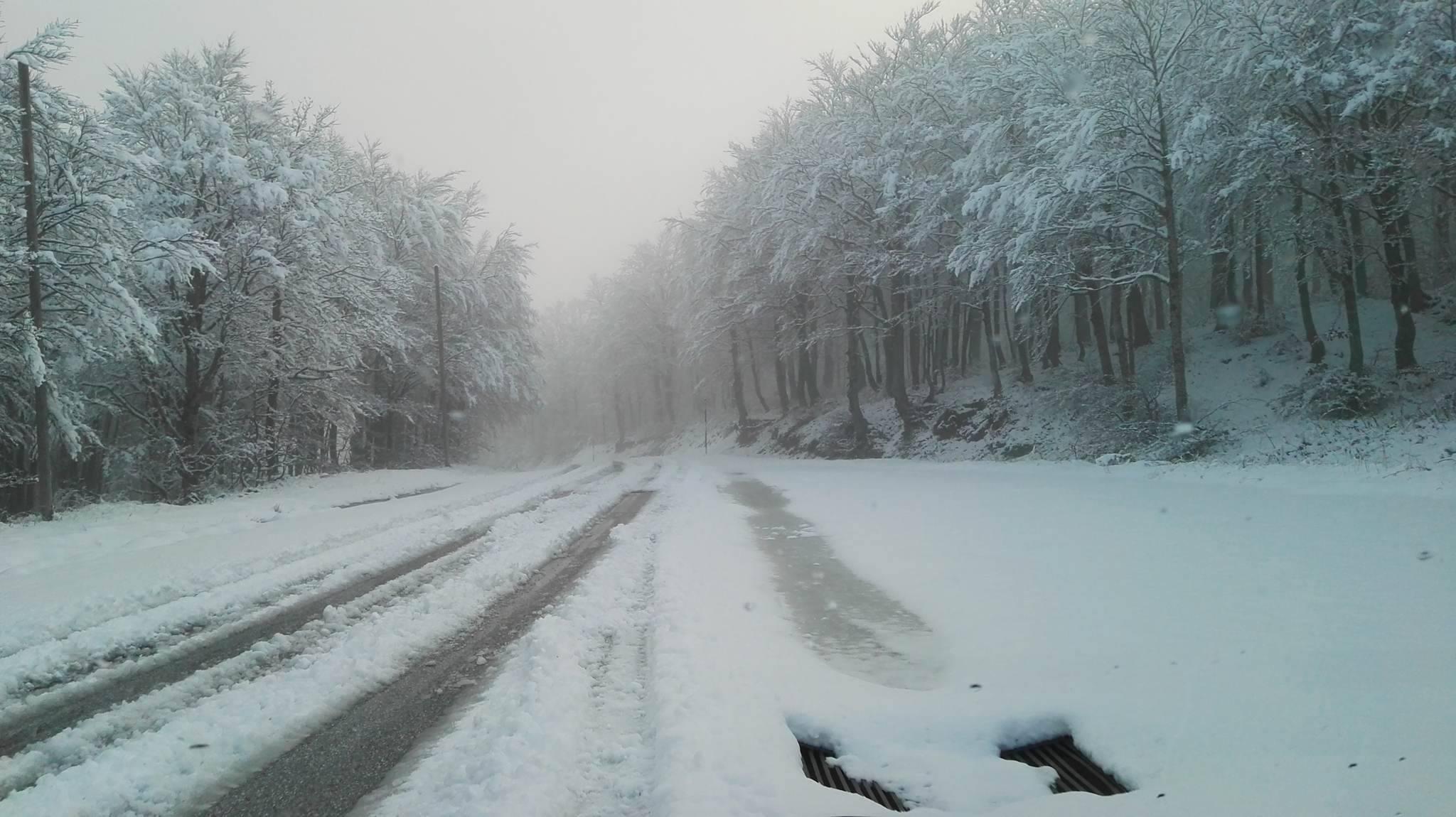 Nudi sulla neve Essere Nudo