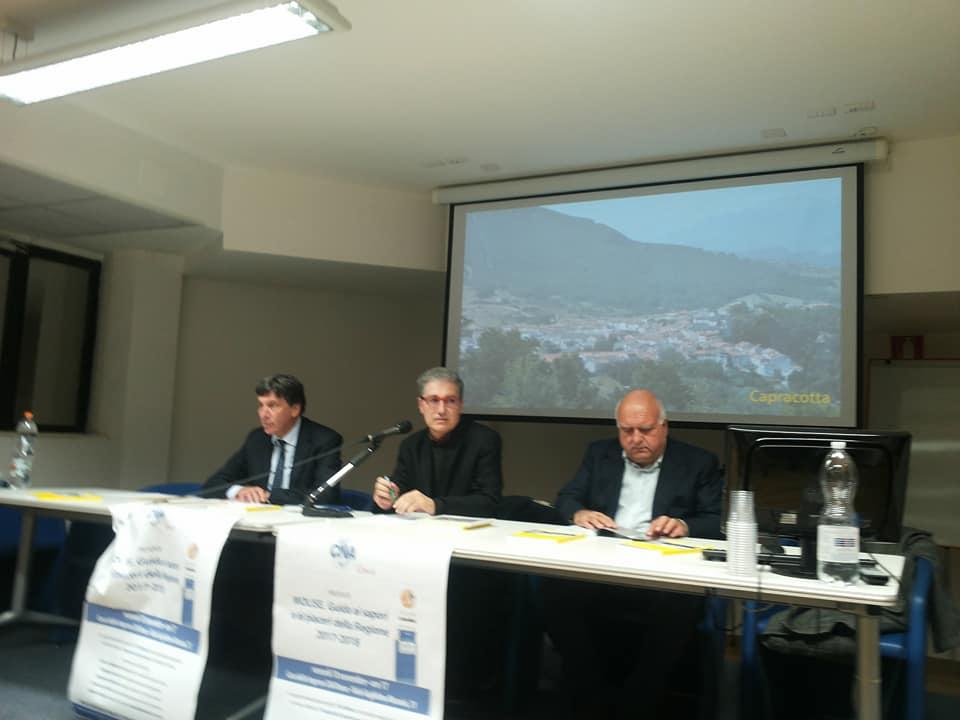 Da sinistra: Lorenzo Tagliavanti, Giampiero Castellotti e Giuseppe Cerasa