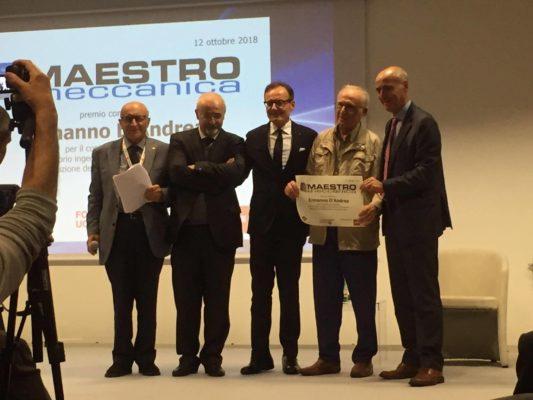 Ermanno D'Andrea maestro della meccanica 2018