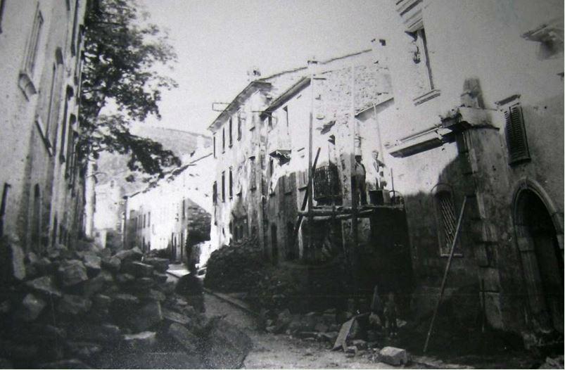 Lavori di ricostruzione su Corso Sant'Antonio