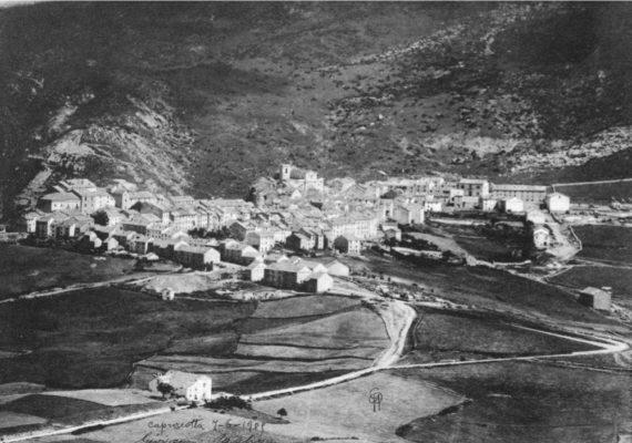 Capracotta dalla vetta di Monte Capraro 1905