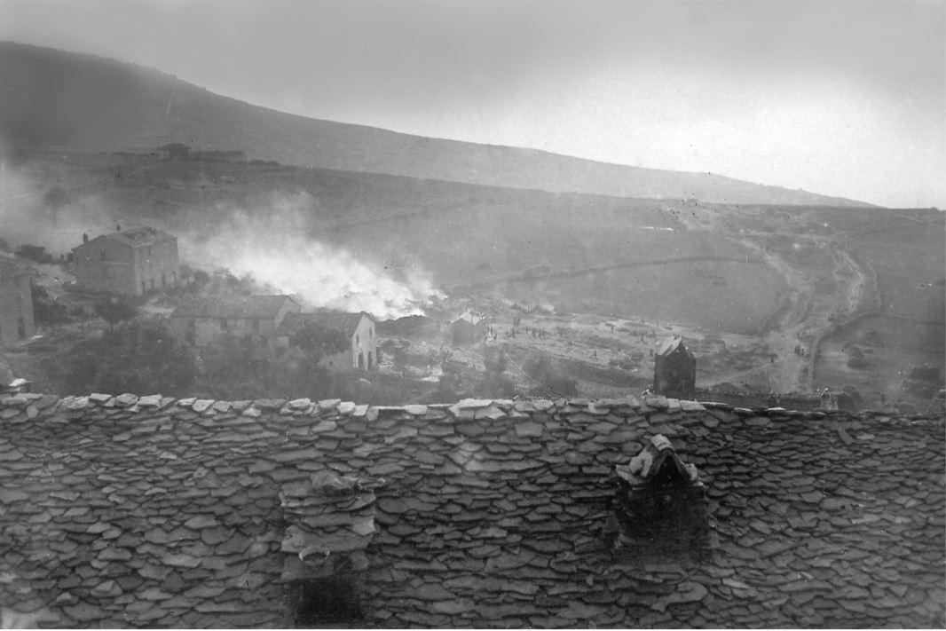 Incendio Capracotta 1921