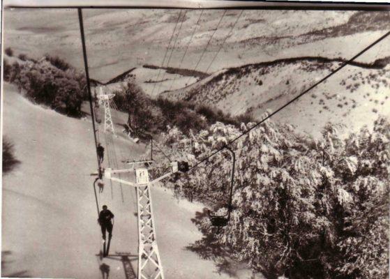Seggiovia di Roccalta anni 50-60