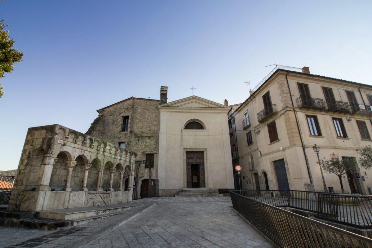Isernia, Piazza Celestino. Foto: Eleonora Mancini