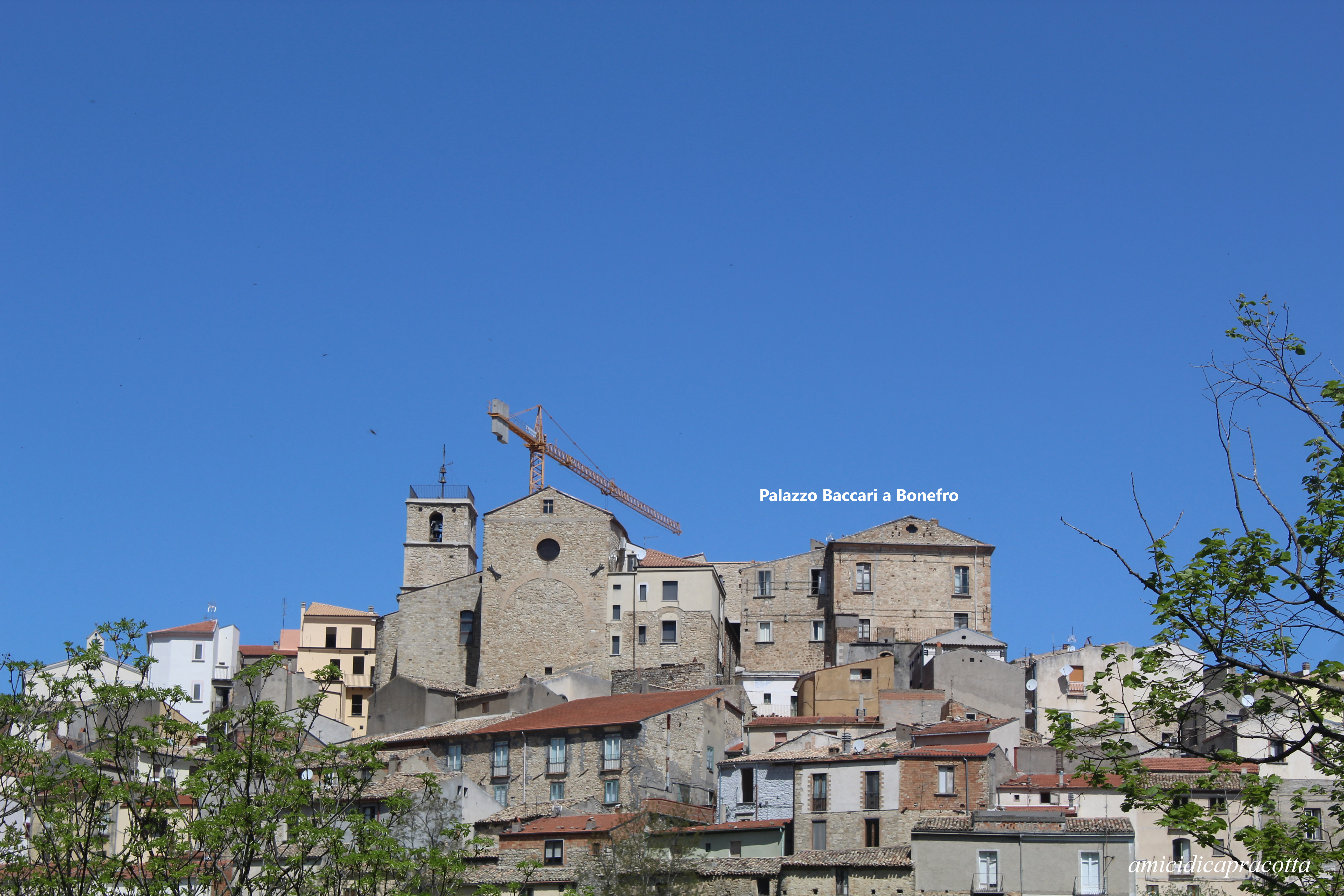 Palazzo Baccari a Bonefro. Foto: Luigi Venditti