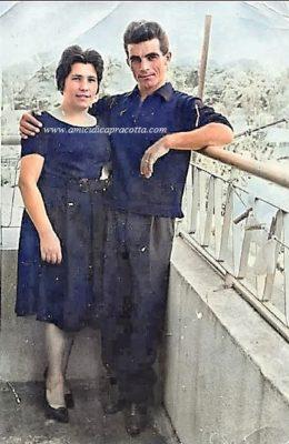 I coniugi Maria Carnevale e Pietro Di Rienzo