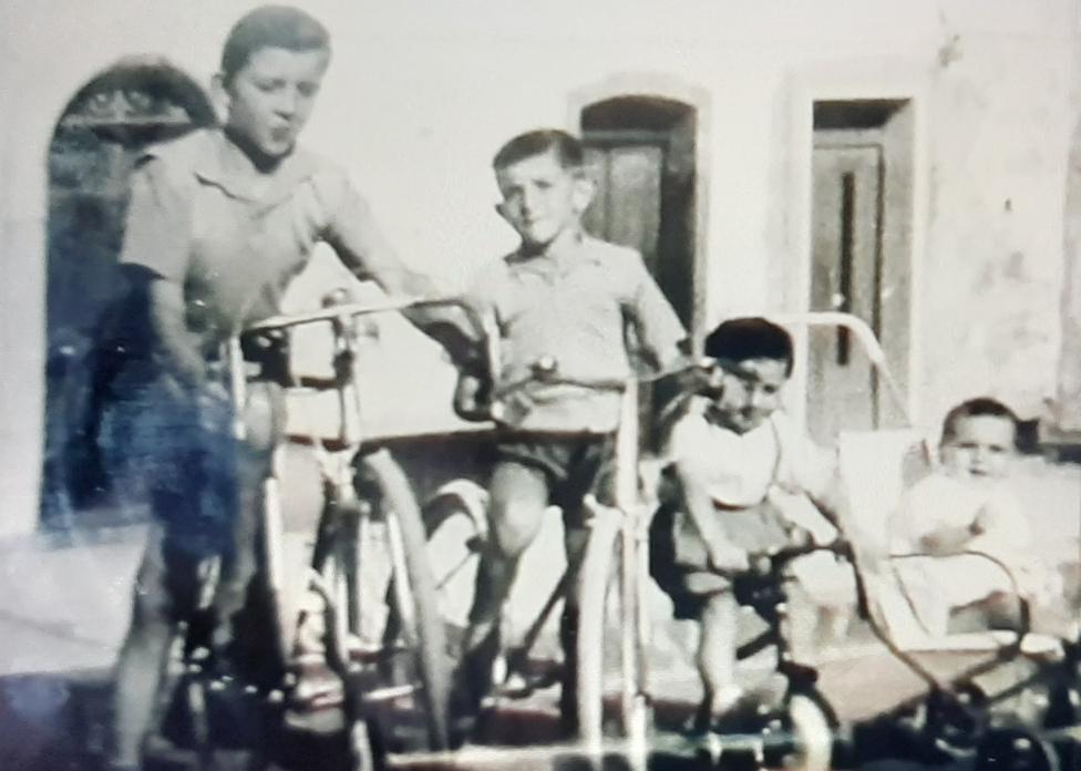 Michele, Enzo, Massimo e Marcello (1957))